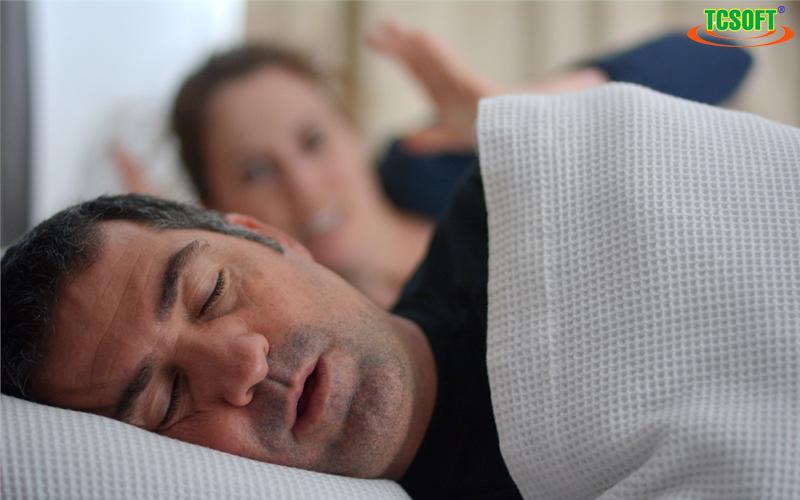 Khó thở trong quá trình ngủ - Mất ngủ