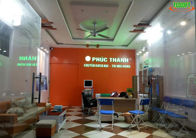 Phòng khám Tai Mũi Họng - Bác sĩ Thành tin dùng phần mềm quản lý phòng khám TCSOFT MEDICAL