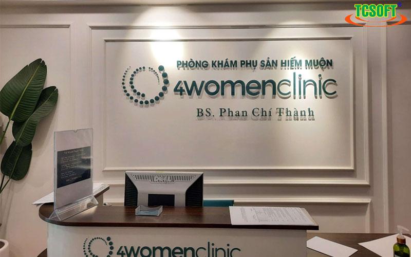 phòng khám sản phụ khoa hiếm muốn 4Wonmen clinic
