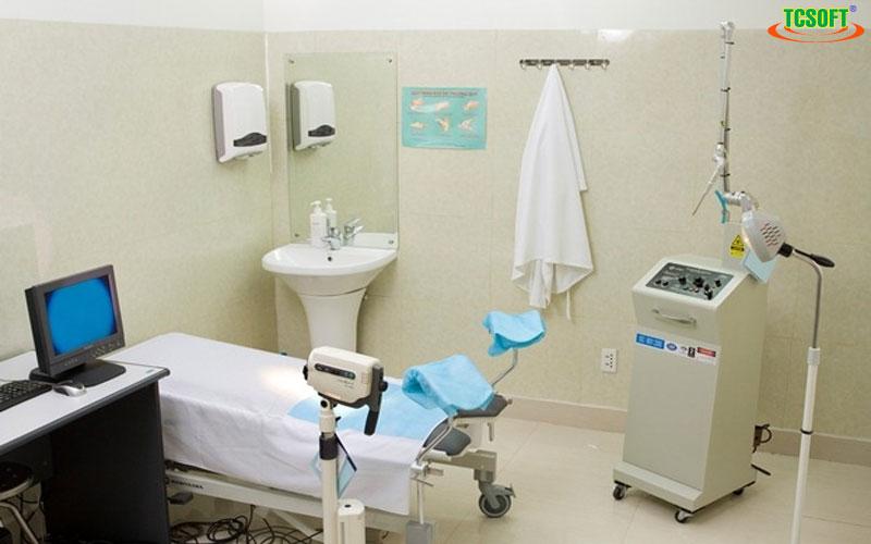 Phần mềm quản lý phòng khám TCSOFT MEDICAL - Phòng khám sản BS.Phương