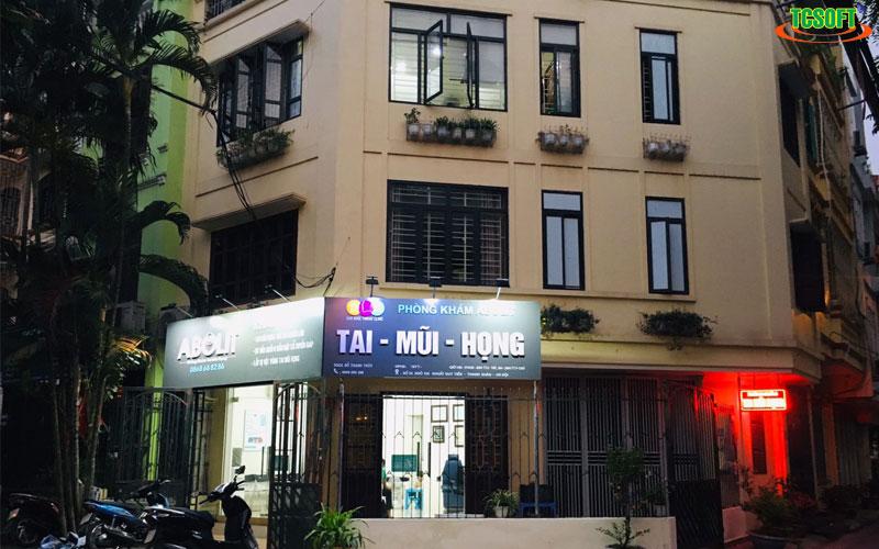 Phòng khám Tai Mũi Họng Abolit tin dùng TCSOFT MEDICAL