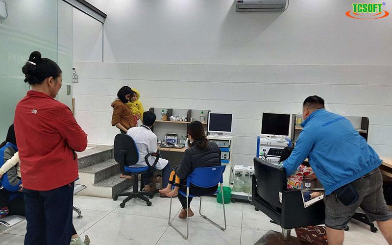 Phần mềm quản lý phòng khám TCSOFT MEDICAL triển khai cho phòng khám nhi Bs Ngọc