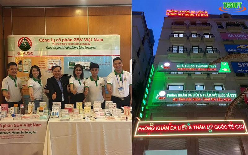 Giải pháp phòng khám TCSOFT MEDICAL - Bệnh viện đa khoa quốc tế GSV